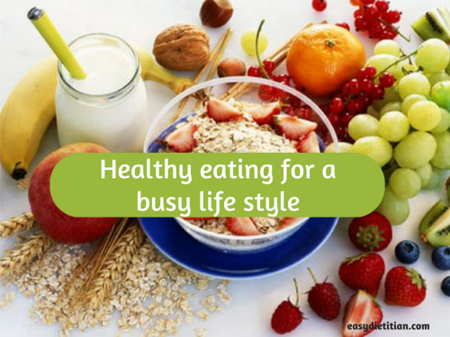 eating healthily in busy lifestyle Eating healthily with a busy lifestyle - nutrition essay example salam sejahtera for ladies and gentlemen my name is mohd.